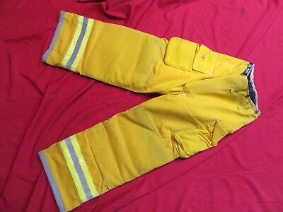 N.o.s. Lion Body Guard Firefighter Turnout Gear Bunker Gear Pants Liner 26 X 26