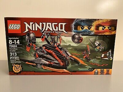 LEGO NINJAGO MASTERS OF SPINJITZU VERMILLION INVADER SET 70624