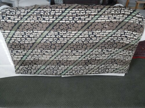 Antique CHASE Heavy Woolen Buggy Lap Blanket for Sleigh, Model T Ford, Winter