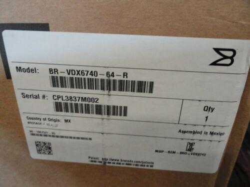 Brocade BR-VDX6740-64-R, 80-1007521-05 New!!!