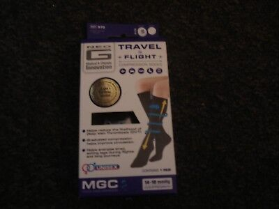 Neo G Travel & Flight Compression Socks - Size Small Black