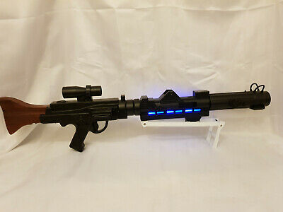 STAR WARS CUSTOM BLASTER PAINTED STORMTROOPER DLT-19 MG-34 DC-15a MANDALORIAN