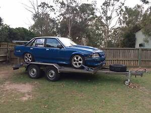 1985 VK Commodore Track Car and Trailer Woodend Ipswich City Preview