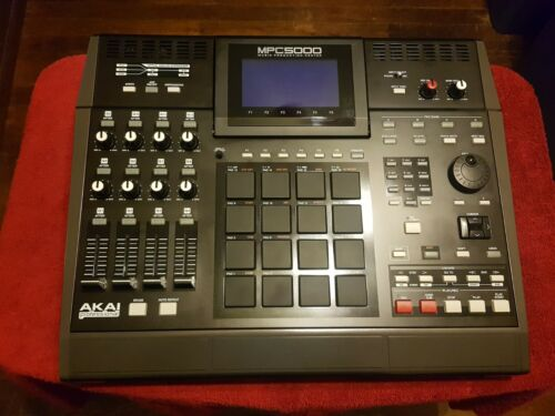 Akai MPC 5000, Music Production, Drum Machine, Rhythm Composer