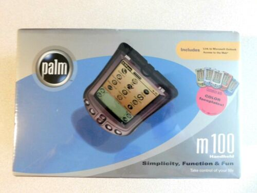 NEW Sealed Palm One m100 Handheld PalmOne PDA Palm Pilot Organizer