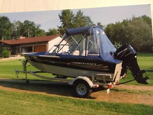 17 foot PRINCE CRAFT ALUMINUM 2006