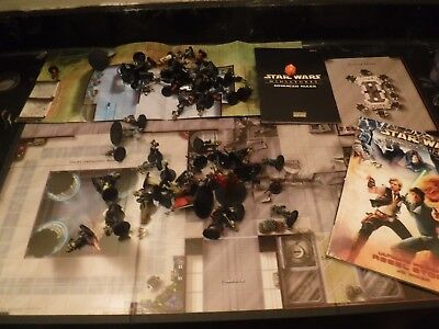 Deluxe starter set 4 best Star Wars miniatures game, assault on imperial legion