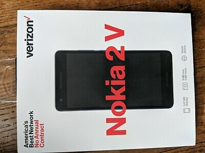 "VERIZON NOKIA 2 V 5.5""inch  PREPAID CELL PHONE BRAND NEW"