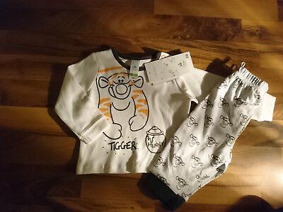Schlafanzug, Pyjama Gr.68 mit Tiger von Winnie Pooh von C&A, Neu