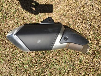 2016 ducati hypermotard 821 genuine muffler for sale