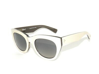 SALE*Salt Optics Pila OYGR Oyster Grey Mirror Lovers Soul Polarized Sunglasses