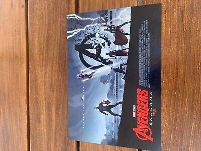 """AVENGERS ENDGAME WEEK 2 POSTER AMC IMAX MINI POSTER 11"""" x 15.5 """" BRAND NEW RARE"""