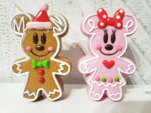 TOKYO Disney GingerBread Christmas Ornament Mickey&Minnie candy case 2012 Ginger