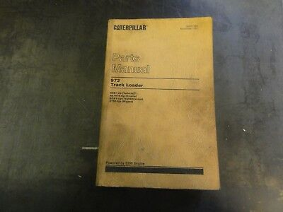 Caterpillar Cat 973 Track Loader Parts Manual  Sebp1364
