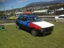 Bush basher 1985 Ford Laser Risdon Vale Clarence Area Preview