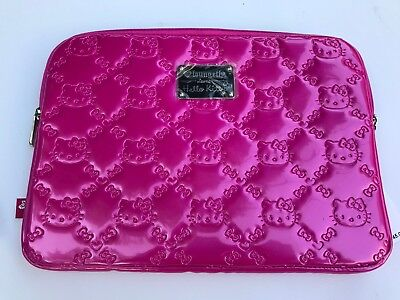 PINK Loungefly Loves Hello Kitty, Laptop Bag - Hello Kitty Laptop Bag