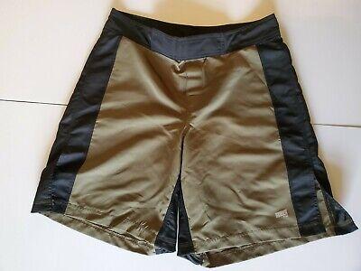 New Hang Ten Men's Green Camouflage Ripstop Stretch Board Shorts Swim Trunks $40