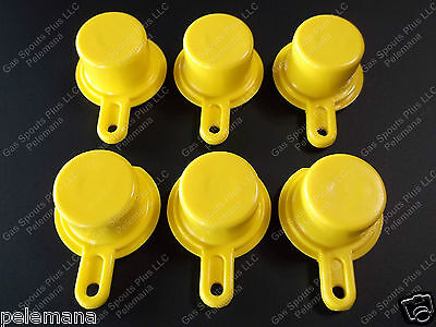 6-pack New Blitz Gas Can Spout Caps 900302 900092 900094 Spout Not Included