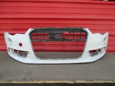 2012 2013 2014 AUDI A6 FRONT BUMPER COVER OEM BASE MODEL