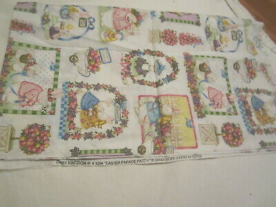 Easter Bunny Parade (Easter Bunny Rabbit Fabric 45