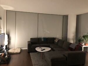 1 bedroom in two bdrm condo for rent in north York, $1200-1350