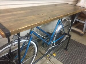 Vintage bicycle bar top