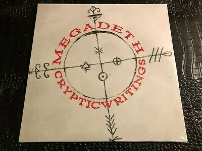 MEGADETH Cryptic Writing - Vinyl LP Record - Brand New - Sealed - Capitol