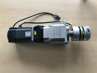 Mitsubishi Servo Motor Hc-kfs73  Apex Dynamics Gear Box 115-s2-p1 Planetengetr