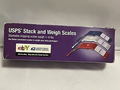 Usps Stack And Weigh Scales 1-6 Lbs.