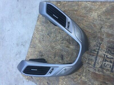 2013-2017 Hyundai Veloster 1.6L Center Dash Radio Trim Bezel W/ Air Vents OEM