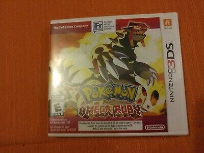 Pokemon Omega Ruby (Nintendo 3DS) FACTORY SEALED CDN SELLER