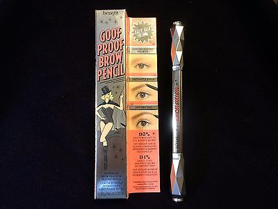 NEW BENEFIT Goof Proof Brow Pencil - #3 - Super Easy Brow Pencil w Spooley Brush
