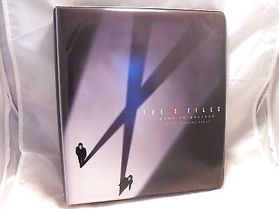X-FILES I WANT TO BELIEVE COLLECTORS BINDER