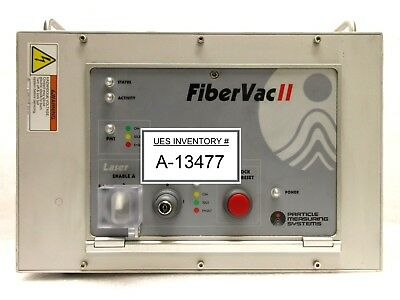 Particle Measuring Systems Fibervac Ii Laser Control Unit Rev. C Used Working