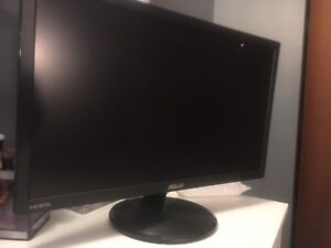 "Asus 21.5"" lcd flat screen monitor 1080p"
