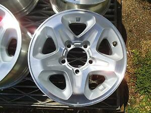 TOYOTA LANDCRUSIER GXL 4X4 ALLOY WHEELS SET OF 5 GENIUINE Lidcombe Auburn Area Preview