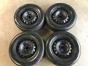Toyota wheels and 195/65R15 winter tires. 195 65 15