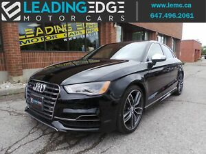 2016 Audi S3 2.0T Technik AUDI CPO Warranty! Navigation, Band...