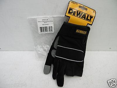 3-finger-framer Glove (DEWALT 3 FINGER FRAMER WORK GLOVES DPG214L + FREE LANYARD )
