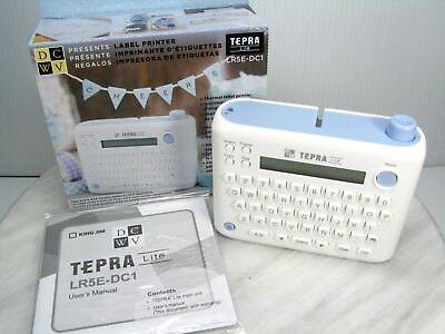 Dcwv Tepra Lite Lr5e-dc1 Label Printer Standalone Portable Thermal Laser Printer