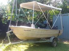 3.9m aluminium dinghy ready for your next fishing trip Woodroffe Palmerston Area Preview