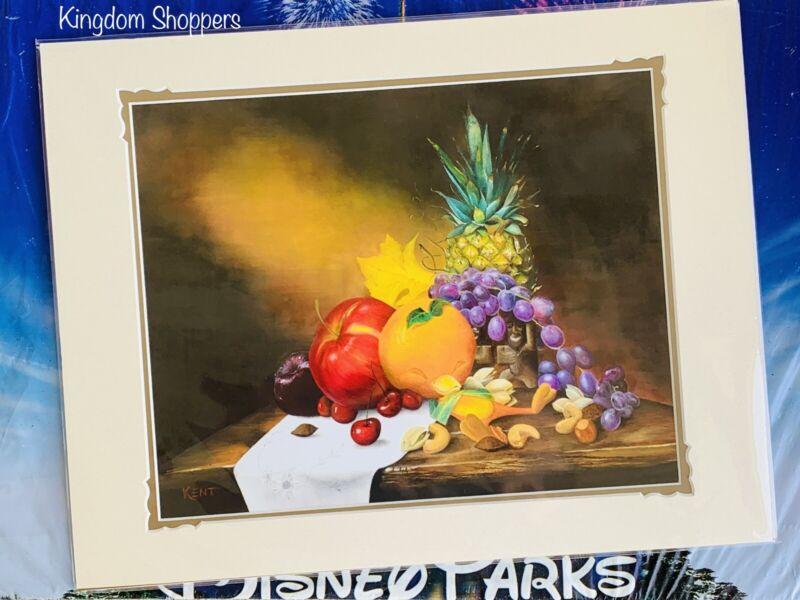 "Disney Parks Elusive Orange Bird Deluxe Matte Print Kent Hammerstrom 18"" x 14"""
