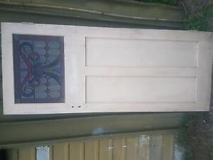 Entry door with leadlight panel Macgregor Brisbane South West Preview