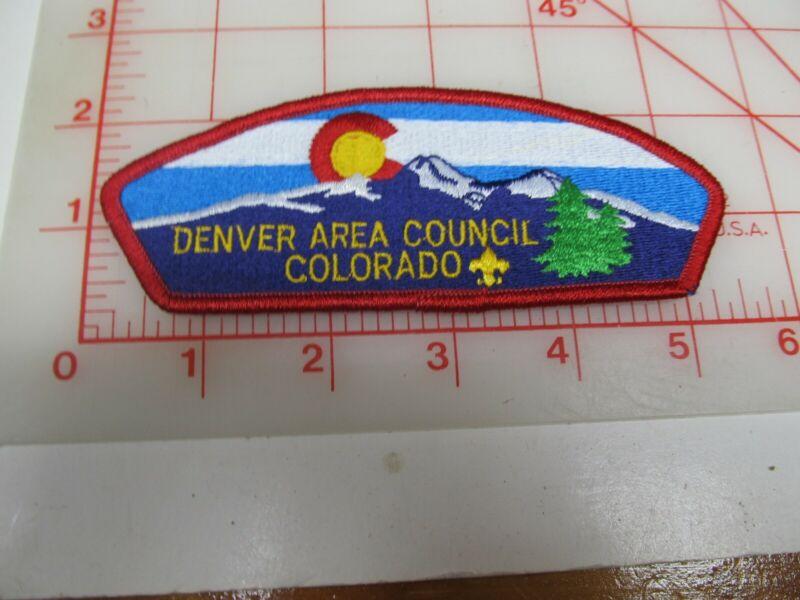Denver Area Council CSP collectible PB patch (o34)