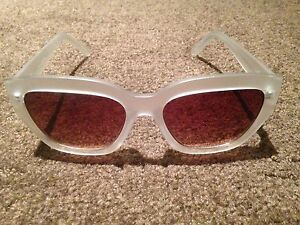 QUAY Large Square White Framed Sunnies North Melbourne Melbourne City Preview