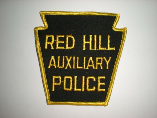 RED HILL, PENNSYLVANIA POLICE DEPARTMENT AUXILIARY PATCH