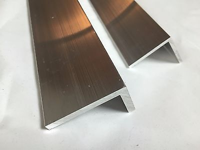Mill Finish Aluminium (Aluminium Angle L Profile Mill Finish 6060 Grade Various Lengths Thickness 2 3 4)