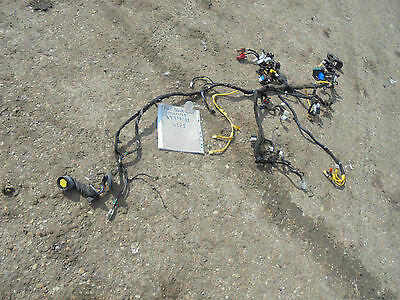 FIAT INTERIOR FRONT DASH ELECTRICAL WIRING LOOM AND FUSE & RELAYS MULTIPLA