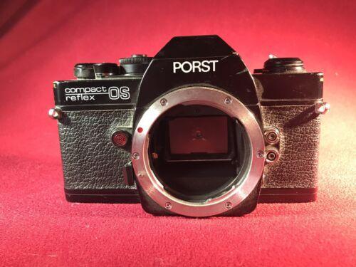 Porst Compact Reflex OS Body Gehäuse Spiegelreflexkamera