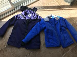 Ladies size small Columbia jacket with liner